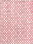 SCHMUSEDECKE 75/100 cm - Rosa/Weiß, Textil (75/100cm) - MY BABY LOU