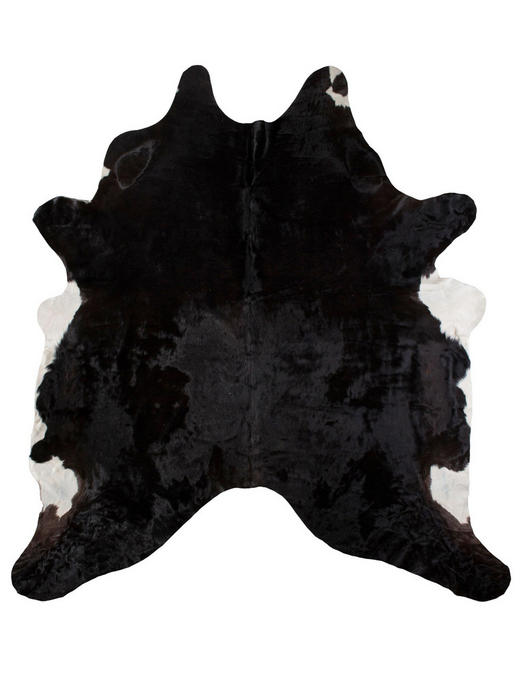 RINDERFELL  160/250 cm  Multicolor, Schwarz - Multicolor/Schwarz, Basics, Leder/Weitere Naturmaterialien (160/250cm)