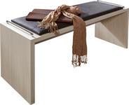 SITZBANK Lederlook Lärchefarben - Lärchefarben, Design, Holz/Textil (120/53/40cm) - DIETER KNOLL