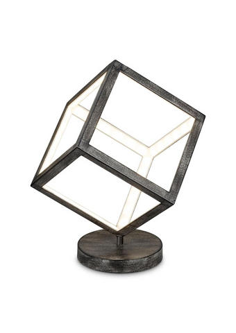 LED SVJETILJKA STOLNA - siva, Design, metal (20/38/20cm)