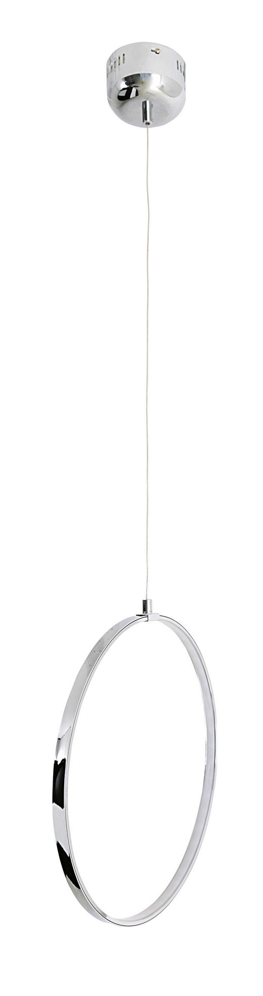 LED-HÄNGELEUCHTE - Chromfarben, LIFESTYLE, Metall (80/120cm)