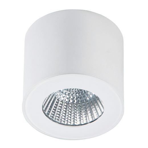 LED-DECKENLEUCHTE - Weiß, LIFESTYLE, Metall (6,5/5,5cm)