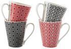 KAFFEEBECHERSET 4-teilig Keramik - LIFESTYLE, Keramik (0,25l)