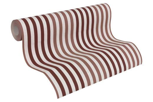 VLIESTAPETE 10,05 m - Beige/Rot, Design, Textil (53/1005cm)
