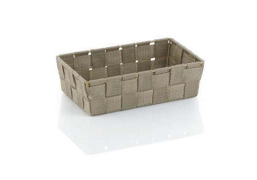 KORB - Taupe, Basics, Textil (23/15/6cm)