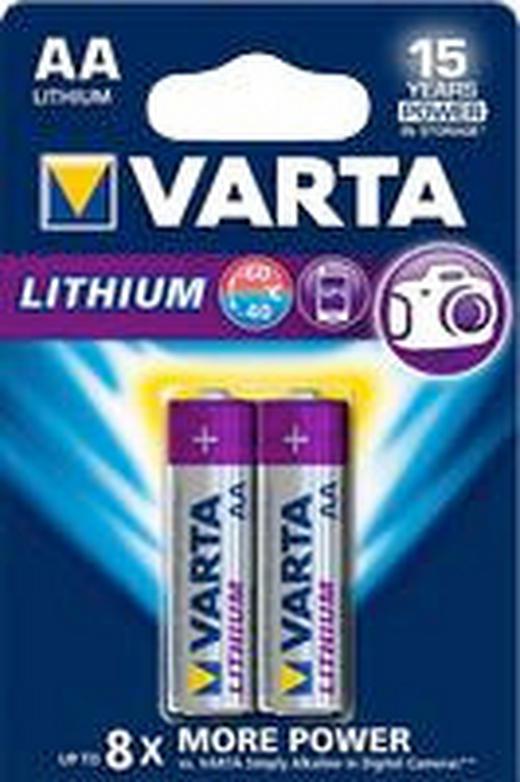 BATTERIE - Basics (8/12/1,6cm) - Varta