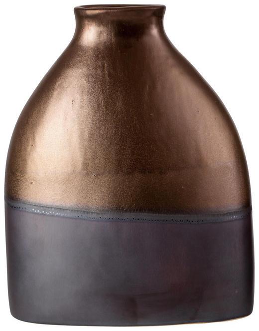 Vase 32 cm - Goldfarben/Braun, Lifestyle, Keramik (26/12/33cm) - Ritzenhoff Breker