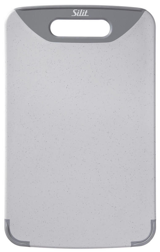 SCHNEIDEBRETT Kunststoff - Grau, Basics, Kunststoff (32/20/1,5cm) - Silit