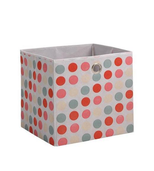 SKLOPIVA KUTIJA - roza, Design, tekstil (32/32/32cm) - Boxxx
