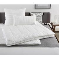 GANZJAHRESBETT  135/200 cm   - Weiß, Basics, Textil (135/200cm) - Billerbeck