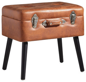 PALL - brun/svart, Trend, trä/träbaserade material (50/46/35cm) - Xora