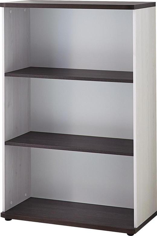 AKTENREGAL Eichefarben, Lärchefarben - Eichefarben/Lärchefarben, Design, Holzwerkstoff/Kunststoff (80/122/38cm) - Carryhome