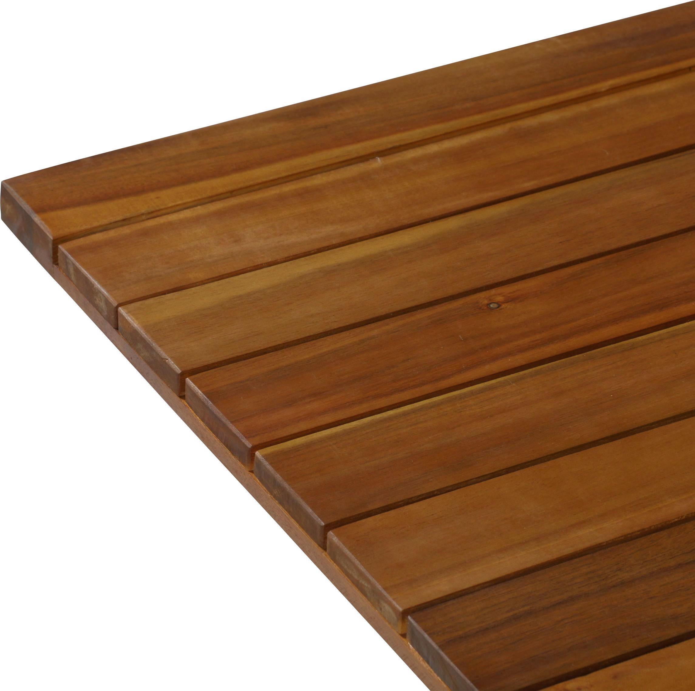 GARTENSET  7-teilig - Taupe/Naturfarben, Design, Holz/Kunststoff (150-200/77/96cm) - AMBIA GARDEN
