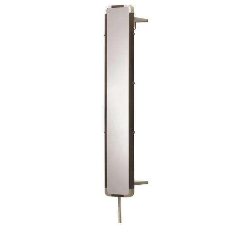 GARDEROBENPANEEL  - Design, Glas/Metall (26.5/187/35cm) - Moderano