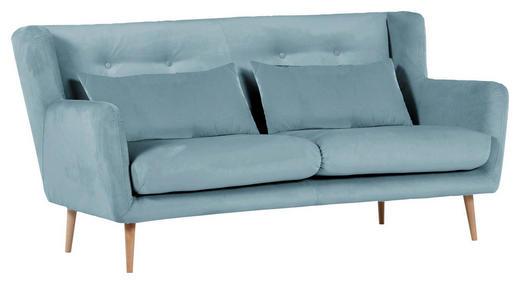Zweisitzer Sofa Flachgewebe Hellblau Online Kaufen Xxxlutz