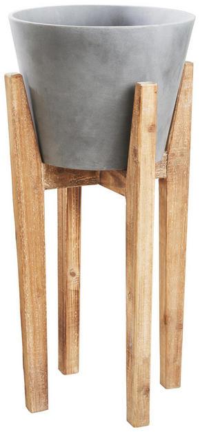 PLANTERINGSKRUKA - naturfärgad, Natur, trä/plast (33/70cm) - Ambia Home