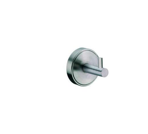 HANDTUCHHAKEN - Edelstahlfarben, Basics, Metall (6.5/7cm) - Kela