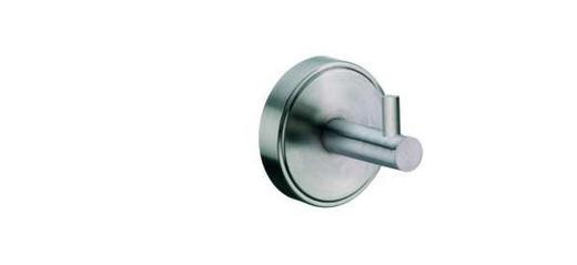HANDTUCHHAKEN - Edelstahlfarben, Basics, Metall (6.5/7cm)