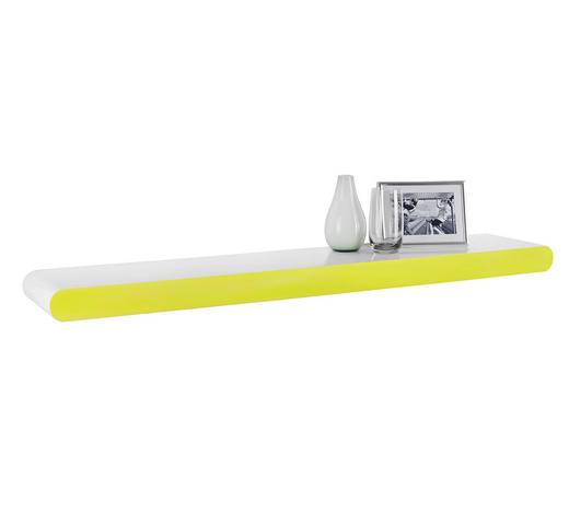 WANDBOARD in 110/5,8/20 cm Grün, Weiß  - Weiß/Grün, Design, Holzwerkstoff (110/5,8/20cm) - Xora