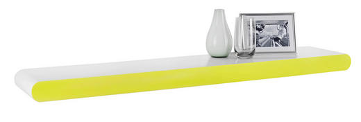 WANDBOARD Grün, Weiß - Weiß/Grün, Design (110/5,8/20cm) - Xora