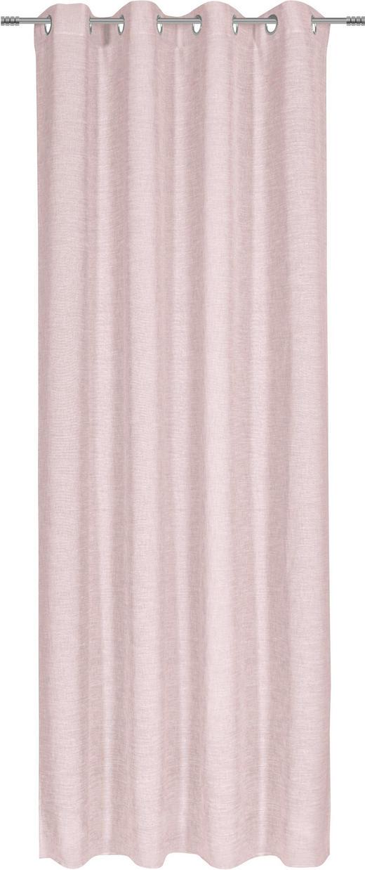 ÖSENSCHAL  halbtransparent  140/245 cm - Rosa, KONVENTIONELL, Textil (140/245cm) - Esposa