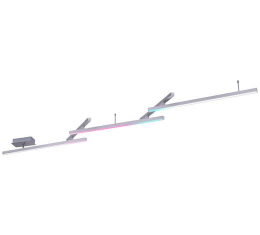 LED-DECKENLEUCHTE   - Alufarben/Grau, Design, Metall (242/12/10cm)