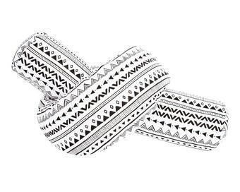 Nestchenschlange - Schwarz/Weiß, Textil (180/14cm) - Zöllner