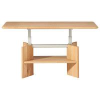COUCHTISCH in Holz 120/70/50-69 cm   - Eichefarben, Design, Holz (120/70/50-69cm) - Escando Natürlich Wo
