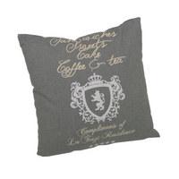 ZIERKISSEN 48/48 cm - Anthrazit, Design, Textil (48/48cm)