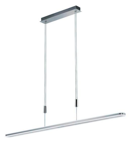 LED-HÄNGELEUCHTE - Weiß, Design, Kunststoff (126cm)
