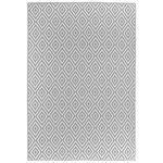OUTDOORTEPPICH  Ibiza  - Weiß/Grau, Trend, Textil (90/150cm) - Boxxx