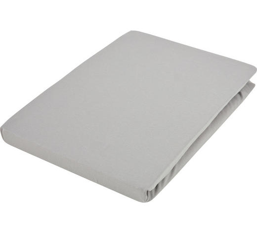 SPANNLEINTUCH 90/190 cm - Graphitfarben, Basics, Textil (90/190cm) - Fussenegger