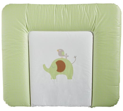 WICKELAUFLAGE 85/72 cm  - Creme/Grün, Basics, Kunststoff (85/72cm) - My Baby Lou