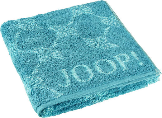 HANDTUCH - Türkis, Design, Textil (50/100cm) - Joop!