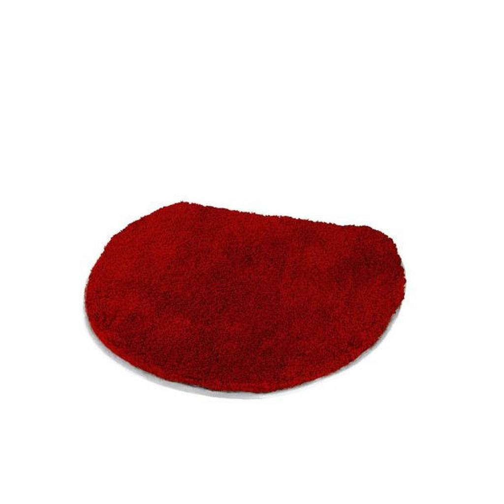 Kleine Wolke WC-DECKELBEZUG Rot 47/50 cm | Bad > Bad-Accessoires > Sonstige Badaccessoires | Rot | Textil | Kleine Wolke
