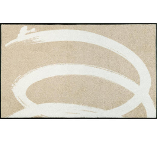 FUßMATTE  75/120 cm  Beige - Beige, Basics, Kunststoff/Textil (75/120cm) - Esposa