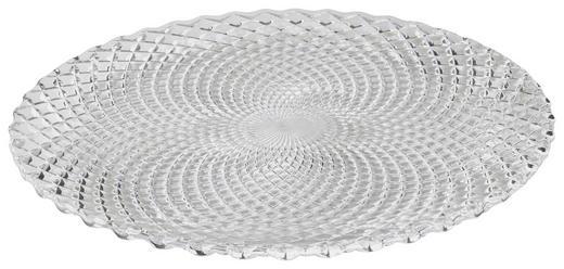 PLATZTELLER Glas 2-teilig - Klar, Basics, Glas (32cm) - NACHTMANN