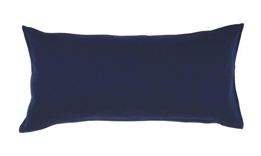 KOPFKISSENBEZUG Dunkelblau 40/80 cm - Dunkelblau, Basics, Textil (40/80cm) - Schlafgut