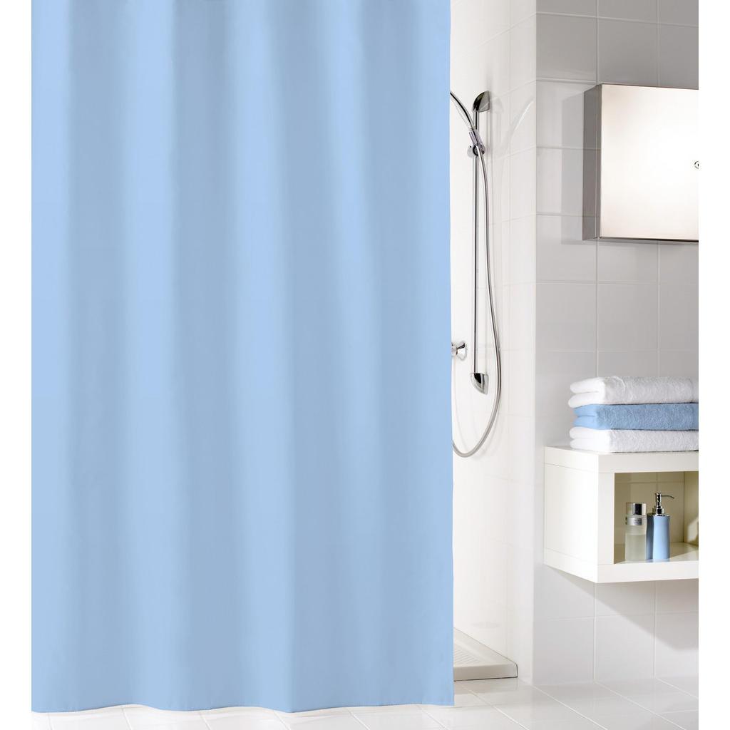 Image of Kleine Wolke Duschvorhang 120/200 cm , 4937 723 238 Kito , Hellblau , Textil , 120x200 cm , wasserabweisend , 003342167801