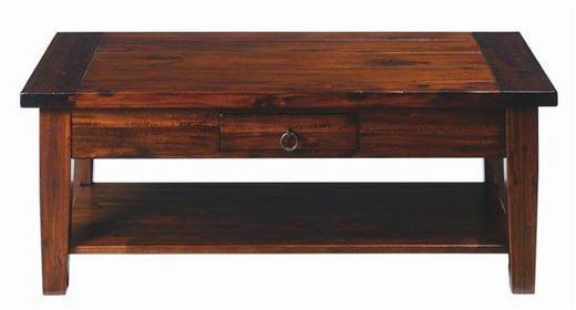 COUCHTISCH in 115/45/60 cm Dunkelbraun - Dunkelbraun, LIFESTYLE, Holz (115/45/60cm) - LANDSCAPE