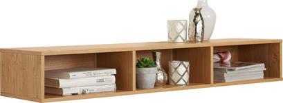 REGAL in 108/16,3/28,3 cm Eichefarben  - Eichefarben, Design, Holz/Holzwerkstoff (108/16,3/28,3cm) - Moderano