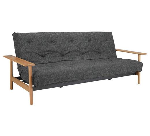 SCHLAFSOFA Webstoff Dunkelgrau  - Dunkelgrau, Design, Holz/Textil (230/92/97cm) - Innovation