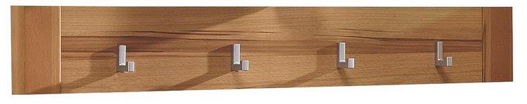 GARDEROBENLEISTE - Buchefarben, KONVENTIONELL, Holz/Holzwerkstoff (90/14/4cm) - Venda