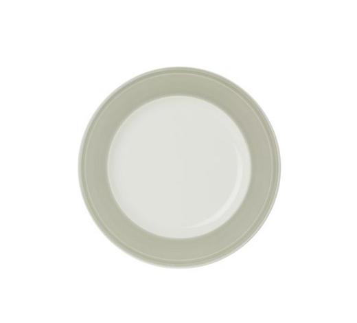 TALÍŘ JÍDELNÍ, porcelán - bílá/světle šedá, Design, keramika (28,1cm) - Novel