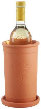 WEINKÜHLER - Orange, KONVENTIONELL, Keramik (12,5/19,5cm) - Homeware