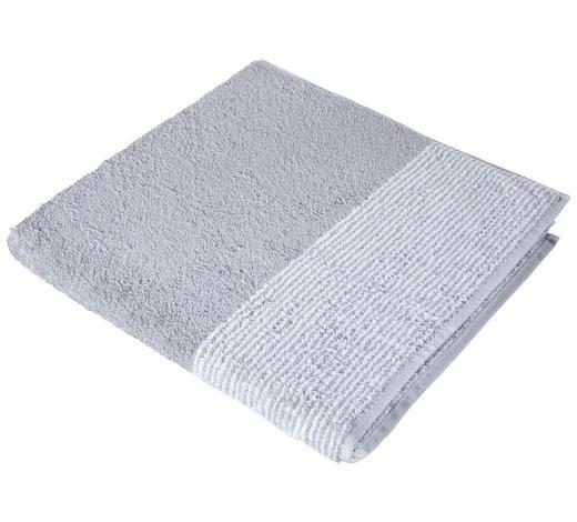 DUSCHTUCH 80/150 cm - Silberfarben, KONVENTIONELL, Textil (80/150cm) - Cawoe