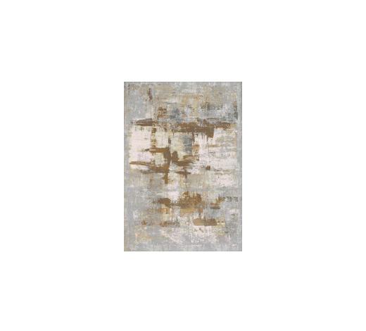 VINTAGE-TEPPICH - Currygelb/Silberfarben, Design, Textil (80/150cm) - Dieter Knoll