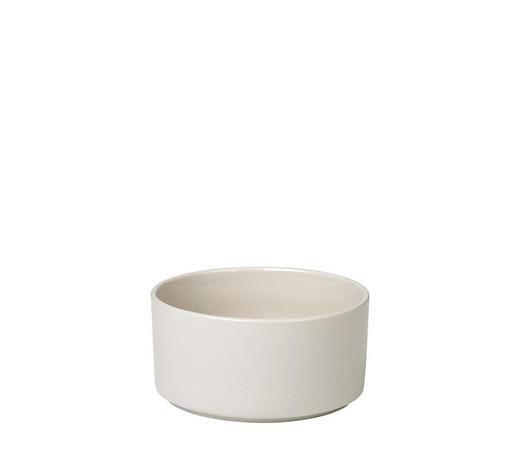 SCHALE Keramik Steingut  - Beige, Basics, Keramik (14/7cm) - Blomus