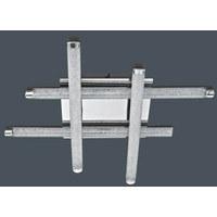 LED-DECKENLEUCHTE - Klar, KONVENTIONELL, Kunststoff/Metall (49/49/8,5cm) - Novel