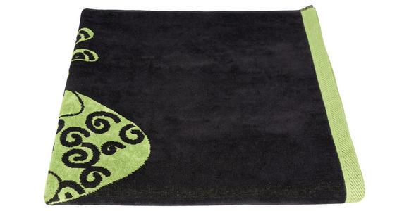 STRANDTUCH 90/180 cm Grün  - Grün, KONVENTIONELL, Textil (90/180cm) - Esposa